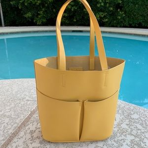 Neiman Marcus Large Yellow Tote Bag